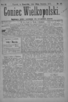 Goniec Wielkopolski: najtańsze pismo codzienne dla wszystkich stanów 1879.01.30 R.3 Nr24