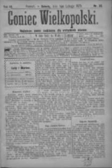Goniec Wielkopolski: najtańsze pismo codzienne dla wszystkich stanów 1879.02.01 R.3 Nr26