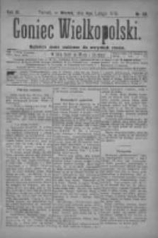 Goniec Wielkopolski: najtańsze pismo codzienne dla wszystkich stanów 1879.02.04 R.3 Nr28