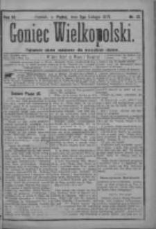 Goniec Wielkopolski: najtańsze pismo codzienne dla wszystkich stanów 1879.02.07 R.3 Nr31