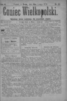 Goniec Wielkopolski: najtańsze pismo codzienne dla wszystkich stanów 1879.02.13 R.3 Nr35