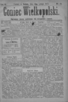 Goniec Wielkopolski: najtańsze pismo codzienne dla wszystkich stanów 1879.02.15 R.3 Nr38