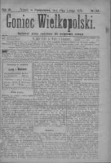 Goniec Wielkopolski: najtańsze pismo codzienne dla wszystkich stanów 1879.02.17 R.3 Nr39