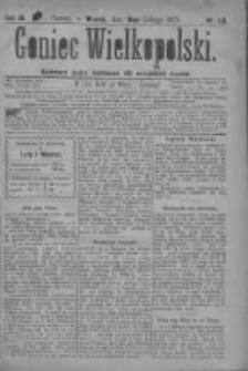 Goniec Wielkopolski: najtańsze pismo codzienne dla wszystkich stanów 1879.02.18 R.3 Nr40