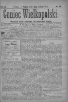 Goniec Wielkopolski: najtańsze pismo codzienne dla wszystkich stanów 1879.02.21 R.3 Nr43