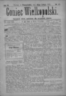 Goniec Wielkopolski: najtańsze pismo codzienne dla wszystkich stanów 1879.02.24 R.3 Nr45