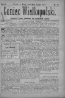 Goniec Wielkopolski: najtańsze pismo codzienne dla wszystkich stanów 1879.02.26 R.3 Nr47