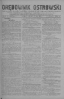 Orędownik Ostrowski: pismo na miasto i powiaty Ostrowski i Odolanowski oraz miast Ostrowa, Odolanowa, Sulmierzyc i Raszkowa 1930.05.13 R.79 Nr38