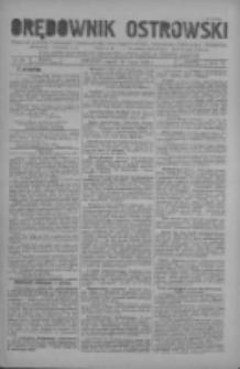 Orędownik Ostrowski: pismo na miasto i powiaty Ostrowski i Odolanowski oraz miast Ostrowa, Odolanowa, Sulmierzyc i Raszkowa 1930.07.25 R.79 Nr59
