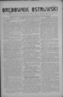 Orędownik Ostrowski: pismo na miasto i powiaty Ostrowski i Odolanowski oraz miast Ostrowa, Odolanowa, Sulmierzyc i Raszkowa 1930.08.08 R.79 Nr63