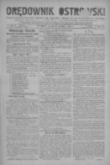 Orędownik Ostrowski: pismo na miasto i powiaty Ostrowski i Odolanowski oraz miast Ostrowa, Odolanowa, Sulmierzyc i Raszkowa 1930.12.26 R.79 Nr103