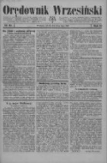 Orędownik Wrzesiński 1929.07.20 R.11 Nr84