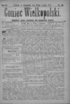 Goniec Wielkopolski: najtańsze pismo codzienne dla wszystkich stanów 1879.02.27 R.3 Nr48