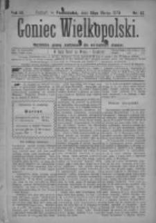 Goniec Wielkopolski: najtańsze pismo codzienne dla wszystkich stanów 1879.03.10 R.3 Nr57