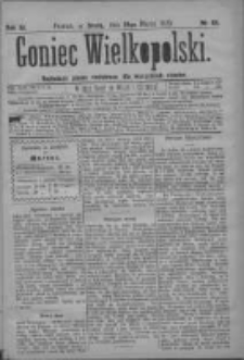 Goniec Wielkopolski: najtańsze pismo codzienne dla wszystkich stanów 1879.03.19 R.3 Nr65