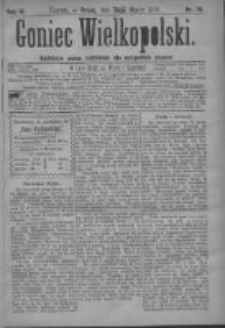 Goniec Wielkopolski: najtańsze pismo codzienne dla wszystkich stanów 1879.03.26 R.3 Nr70