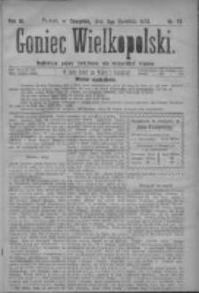 Goniec Wielkopolski: najtańsze pismo codzienne dla wszystkich stanów 1879.04.03 R.3 Nr77