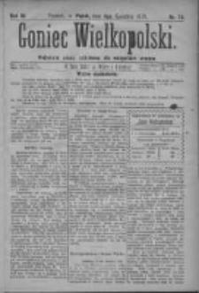 Goniec Wielkopolski: najtańsze pismo codzienne dla wszystkich stanów 1879.04.04 R.3 Nr78