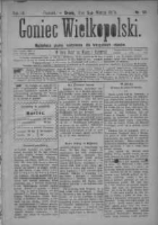 Goniec Wielkopolski: najtańsze pismo codzienne dla wszystkich stanów 1879.03.05 R.3 Nr53