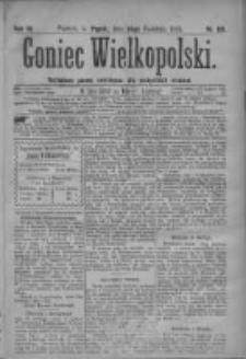 Goniec Wielkopolski: najtańsze pismo codzienne dla wszystkich stanów 1879.04.18 R.3 Nr89