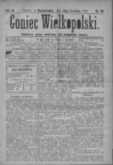 Goniec Wielkopolski: najtańsze pismo codzienne dla wszystkich stanów 1879.04.21 R.3 Nr91