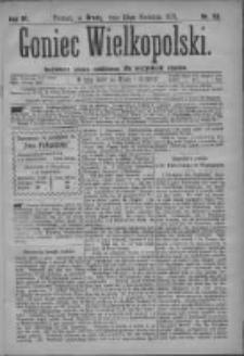 Goniec Wielkopolski: najtańsze pismo codzienne dla wszystkich stanów 1879.04.23 R.3 Nr93