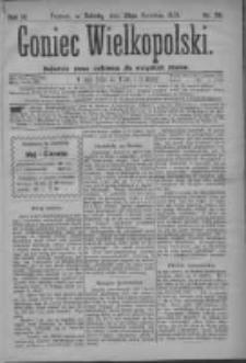 Goniec Wielkopolski: najtańsze pismo codzienne dla wszystkich stanów 1879.04.26 R.3 Nr96