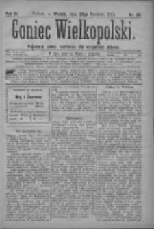Goniec Wielkopolski: najtańsze pismo codzienne dla wszystkich stanów 1879.04.29 R.3 Nr98