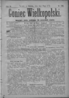 Goniec Wielkopolski: najtańsze pismo codzienne dla wszystkich stanów 1879.05.03 R.3 Nr102