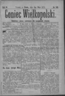Goniec Wielkopolski: najtańsze pismo codzienne dla wszystkich stanów 1879.05.07 R.3 Nr105