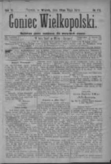 Goniec Wielkopolski: najtańsze pismo codzienne dla wszystkich stanów 1879.05.20 R.3 Nr115