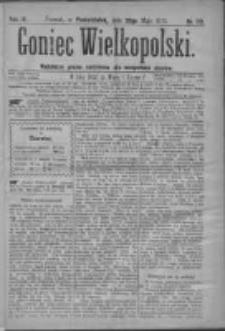 Goniec Wielkopolski: najtańsze pismo codzienne dla wszystkich stanów 1879.05.26 R.3 Nr119