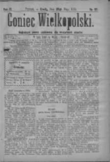 Goniec Wielkopolski: najtańsze pismo codzienne dla wszystkich stanów 1879.05.28 R.3 Nr121