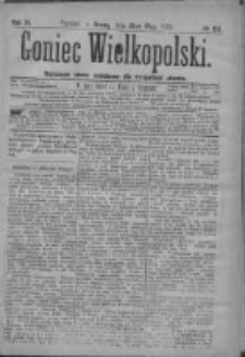 Goniec Wielkopolski: najtańsze pismo codzienne dla wszystkich stanów 1879.05.21 R.3 Nr116