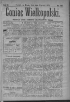 Goniec Wielkopolski: najtańsze pismo codzienne dla wszystkich stanów 1879.06.04 R.3 Nr126