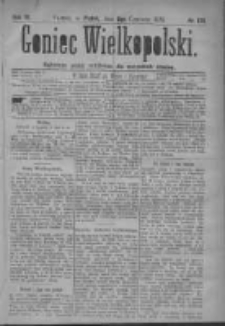 Goniec Wielkopolski: najtańsze pismo codzienne dla wszystkich stanów 1879.06.06 R.3 Nr128