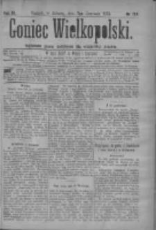 Goniec Wielkopolski: najtańsze pismo codzienne dla wszystkich stanów 1879.06.07 R.3 Nr129