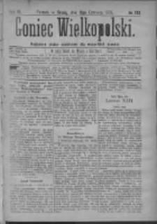 Goniec Wielkopolski: najtańsze pismo codzienne dla wszystkich stanów 1879.06.11 R.3 Nr132