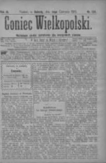 Goniec Wielkopolski: najtańsze pismo codzienne dla wszystkich stanów 1879.06.14 R.3 Nr134
