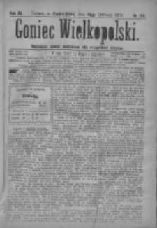 Goniec Wielkopolski: najtańsze pismo codzienne dla wszystkich stanów 1879.06.16 R.3 Nr135