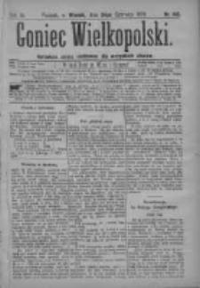 Goniec Wielkopolski: najtańsze pismo codzienne dla wszystkich stanów 1879.06.24 R.3 Nr142