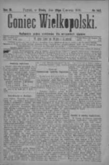 Goniec Wielkopolski: najtańsze pismo codzienne dla wszystkich stanów 1879.06.25 R.3 Nr143