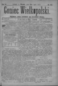 Goniec Wielkopolski: najtańsze pismo codzienne dla wszystkich stanów 1879.07.08 R.3 Nr153