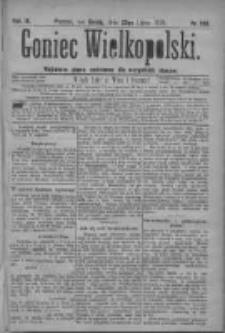 Goniec Wielkopolski: najtańsze pismo codzienne dla wszystkich stanów 1879.07.23 R.3 Nr166