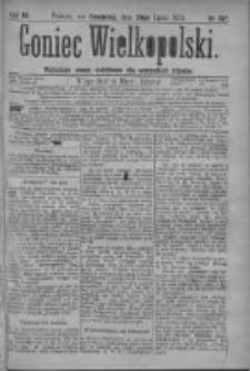 Goniec Wielkopolski: najtańsze pismo codzienne dla wszystkich stanów 1879.07.24 R.3 Nr167