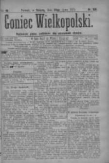 Goniec Wielkopolski: najtańsze pismo codzienne dla wszystkich stanów 1879.07.26 R.3 Nr169