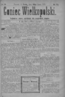 Goniec Wielkopolski: najtańsze pismo codzienne dla wszystkich stanów 1879.07.30 R.3 Nr172