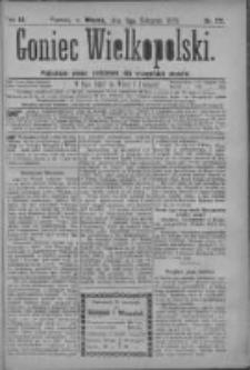 Goniec Wielkopolski: najtańsze pismo codzienne dla wszystkich stanów 1879.08.05 R.3 Nr177