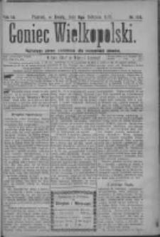 Goniec Wielkopolski: najtańsze pismo codzienne dla wszystkich stanów 1879.08.06 R.3 Nr178