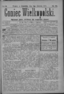 Goniec Wielkopolski: najtańsze pismo codzienne dla wszystkich stanów 1879.08.07 R.3 Nr179